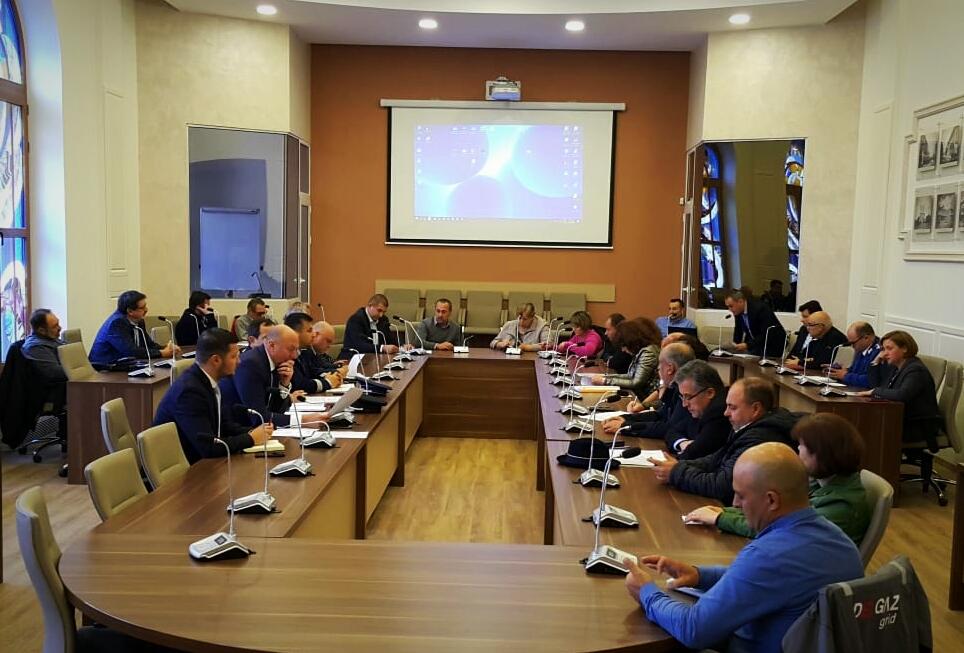 Ședința comună a Colegiului Prefectural și a Grupurilor de lucru  pentru monitorizarea stadiului eli