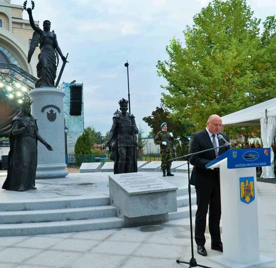 """Inaugurarea Monumentului """"România Biruitoare"""""""