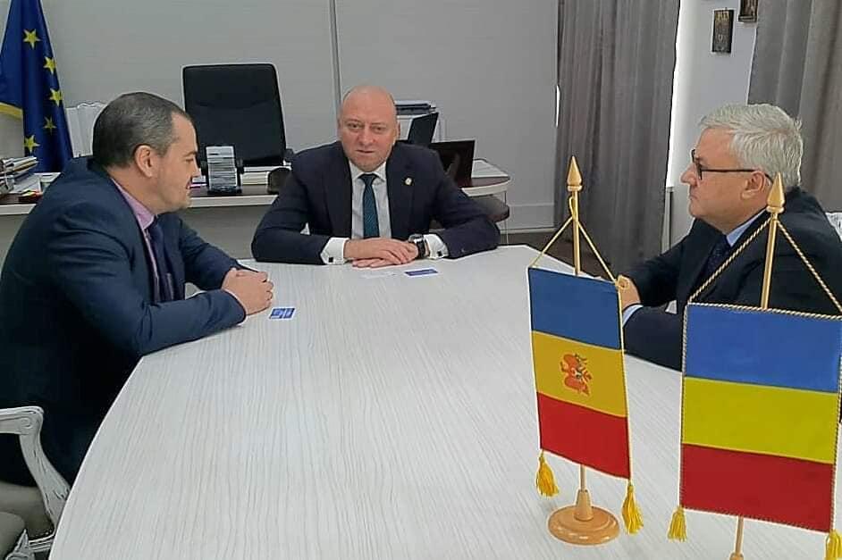 Vizita Excelenței Sale, Alexei Țurcan, Consul General al Consulatului Republicii Moldova la Iași