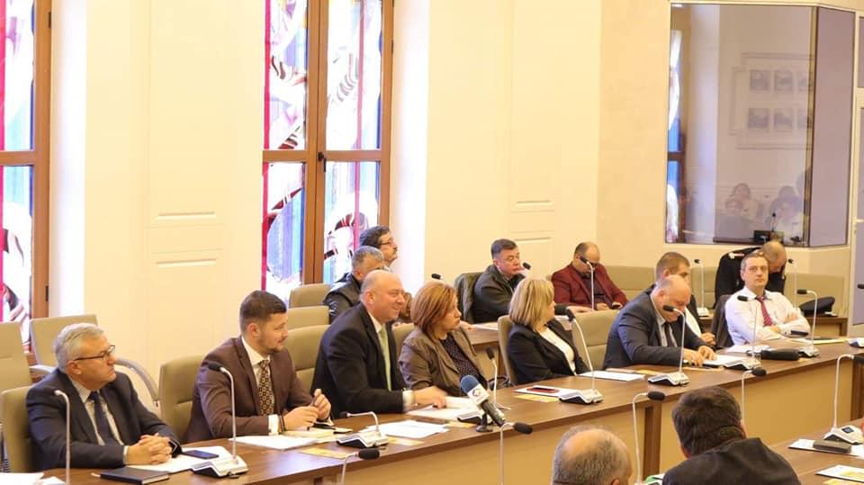 Şedinţa Colegiului Prefectural Bacău 30.10.2019
