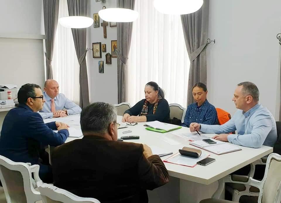 Ședința grupului de lucru pentru monitorizarea stadiului eliberării avizelor/autorizațiilor și desfă