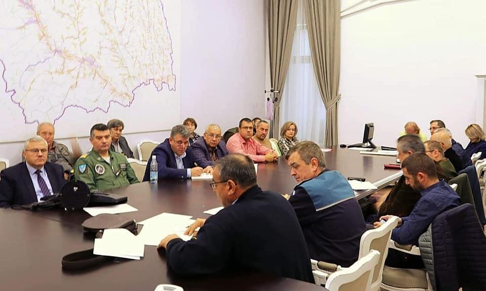 Program de măsuri aplicat în zona afectată instituit ca urmare a confirmării unui caz de pestă porci